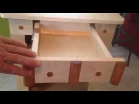 bedside table with secret compartment hybay nightstand bedside table w secret compartment