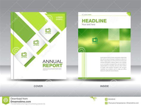 company profile cover design template download professional business report sle