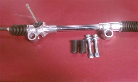 Mustang Manual Rack And Pinion by Sell Mustang Ii Chrome Manual Steering Rack Pinion With