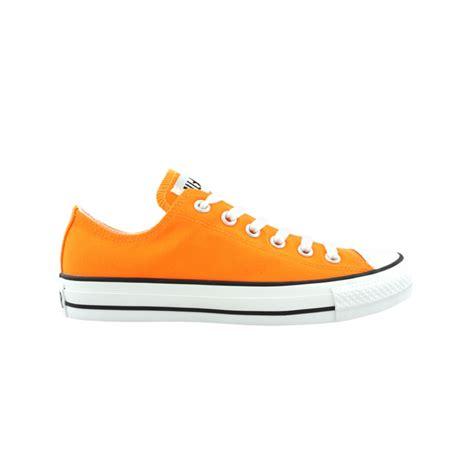 converse all lo athletic shoe bright orange journeys