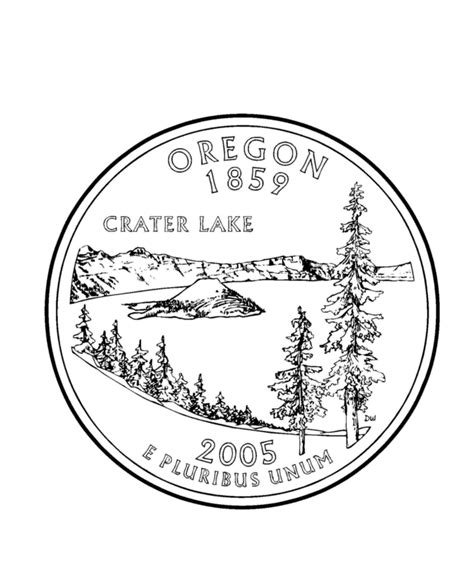 coloring page of quarter free coloring pages of a quarter
