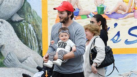 mila kunis kinder familienausflug im hause kutcher kunis wyatt stiehlt