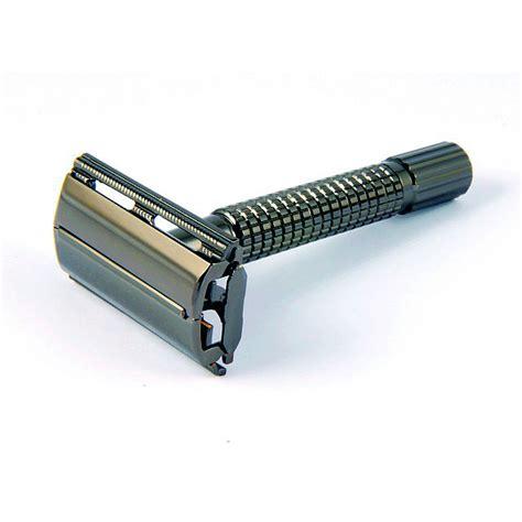 timor edge safety razor gun metal edge