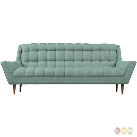 Response Contemporary Button Tufted Upholstered Sofa Laguna Button Tufted Sofas