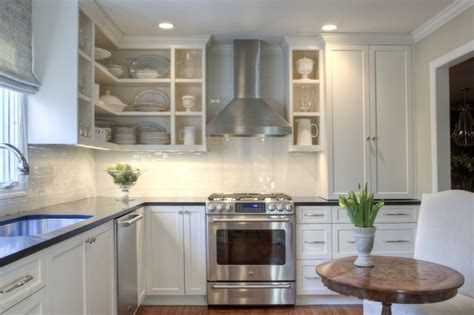 white shaker kitchen cabinets click below for larger white shaker cabinets transitional kitchen allison