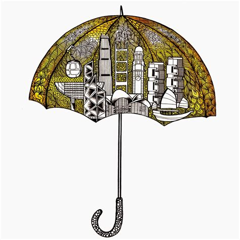 doodle 4 hong kong simbie yau lines and doodles the hong kong umbrella