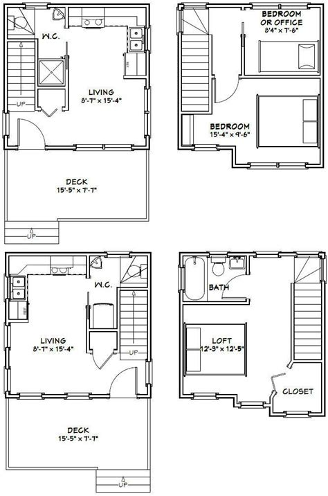 12x28 tiny house 12x28h8a 756 sq ft excellent floor plans images of guest house blueprints home interior and