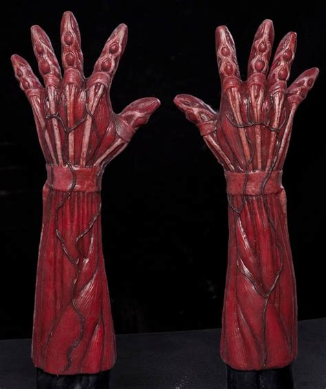flayed silicone gloves cfx