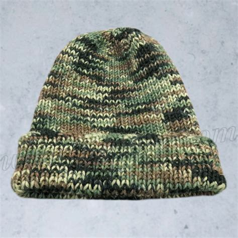army knitting pattern free knitting pattern camouflage hat for soldiers hunting