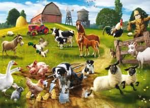 sounds of farm animals for children listen