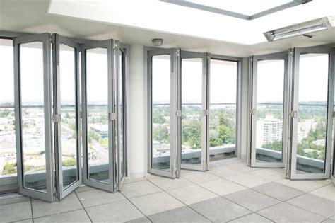 Commercial Exterior Glass Doors Aluminum Folding Doors Gallery
