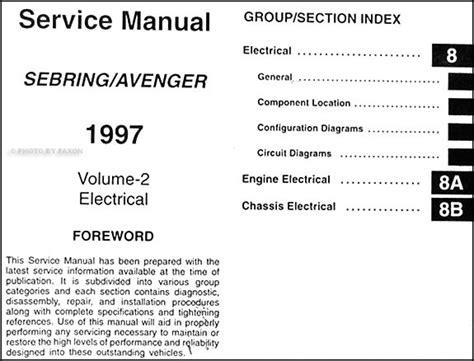 online car repair manuals free 2012 dodge avenger on board diagnostic system service manual 1997 dodge avenger body repair manual 1997 dodge avenger body kits 1997 free