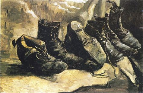 Sepatu Wanita S 268 268 lukisan sepatu butut gogh yungmeung