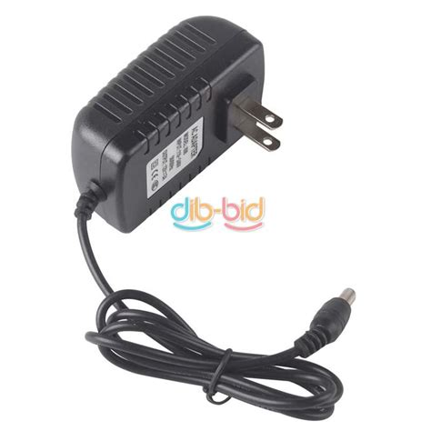 Adaptor 12v Dc 1a Max Volt Positive Sleeve For Musical Instrument New ac to dc 5v 9v 12v 1a 2a wall charger power supply switching adapter 5 5 x 2 1mm ebay