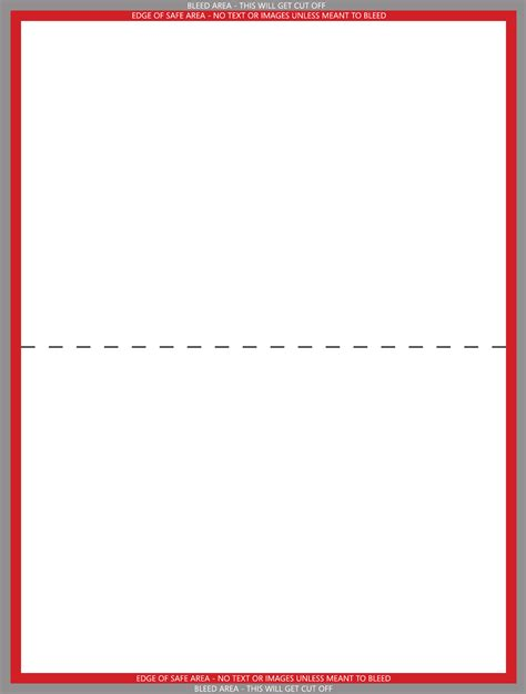 Folded Note Cards Template by Folded Greeting Card Template Free