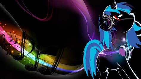 cool vinyl wallpaper vinyl scratch dj pon 3 wallpaper by absentparachute on