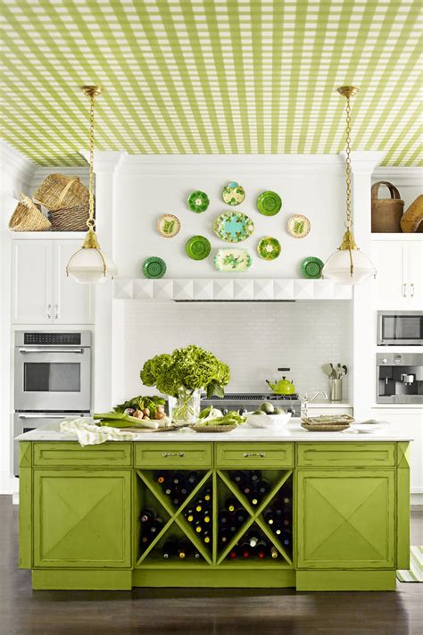 green kitchen decor decorating with green 43 ideas for green rooms and home decor