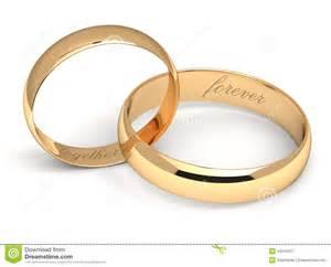 wedding rings together wedding rings on white stock illustration image 43241037