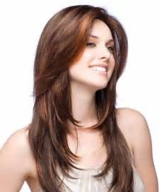 womens hairstyles with layered low hairline beautiful long layered haircut for women kikay