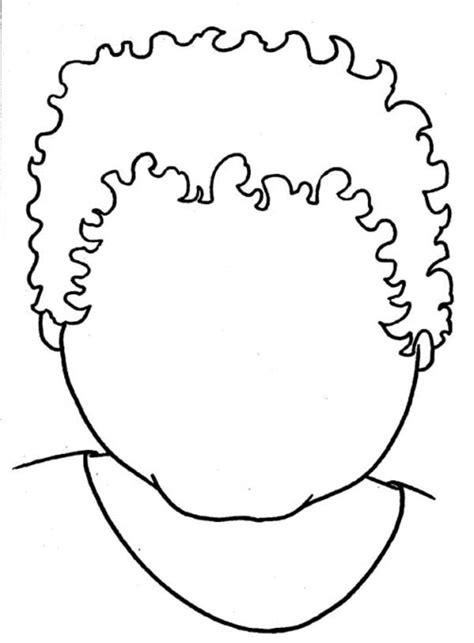 boy head coloring page disney printable coloring pages blank boy head coloring