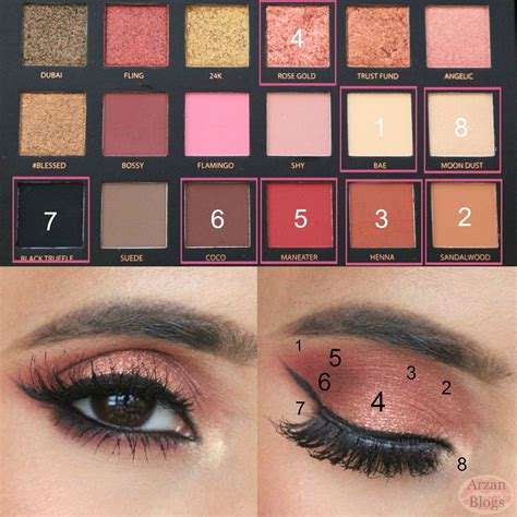 Eyeshadow Huda huda eyeshadow palette gold edition