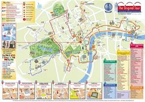 Los Angeles Hop On Hop Off Route Map by Book Citysightseeing London Bus Tour Attractiontix