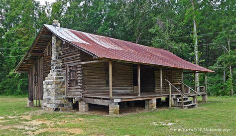 gibeon jefferson sullivan cabin  wagarville al dogtrot log cabin built ca  listed