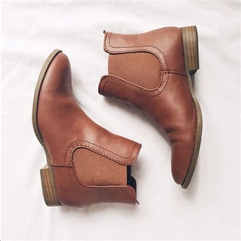 Ankle Leather Booties 17 best ideas about brown booties on brown