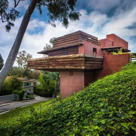 frank lloyd wright george sturges house usonian house george sturges residence 1939 los angeles california