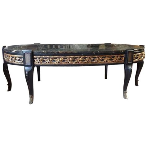 Black Marble Coffee Table Black Marble Gilt Coffee Table For Sale At 1stdibs