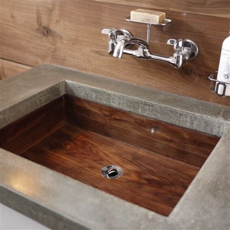 Concrete Countertop And Sink by Best 25 Concrete Countertops Bathroom Ideas On