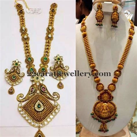 Gold Angti Disain jewellery designs antique sets in different