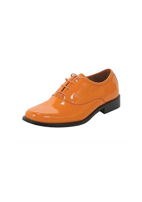 Orange Shoes orange tuxedo shoes dumb and dumber