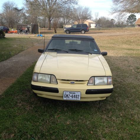 lx 5 0 mustang for sale 1989 ford mustang lx 5 0 convertible for sale