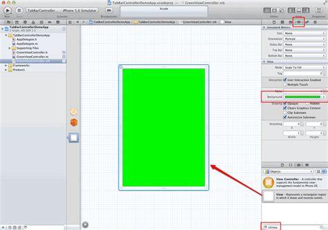 iphone xib tutorial iphone programmierung tutorial uitabbarcontroller