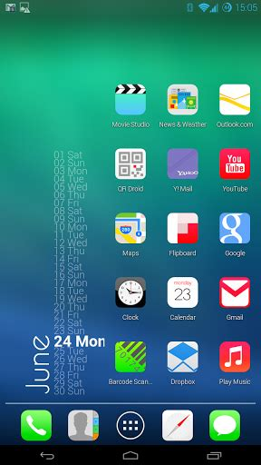 theme ios7 apk ios 7 theme hd concept 8 in 1 3 apk download android apk
