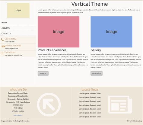 responsive layout maker pro templates responsive layout pro template pack coffeecup software