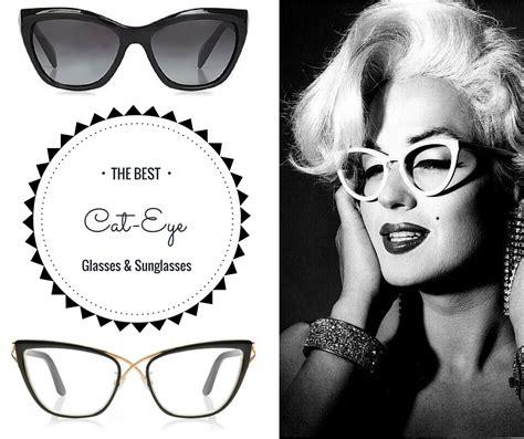 Cat Eye Sunglasses Glasses best designer cat eye glasses to style in 2017 look like