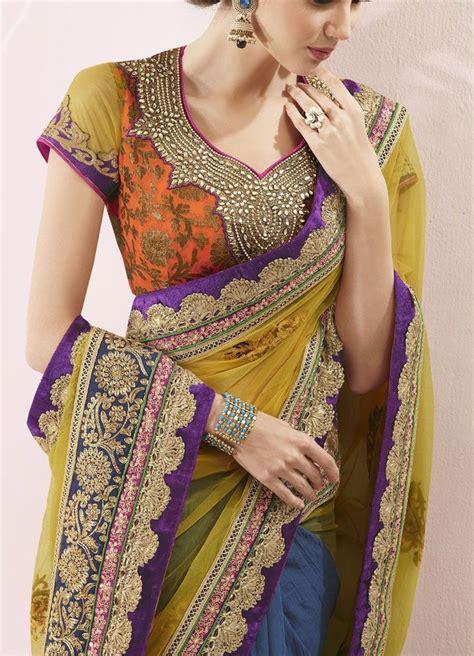 new saree design 2016 latest neckline gala designs types styles 2017 18
