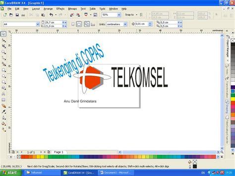 membuat iklan dari corel draw cara membuat logo telkomsel danilgrindatara