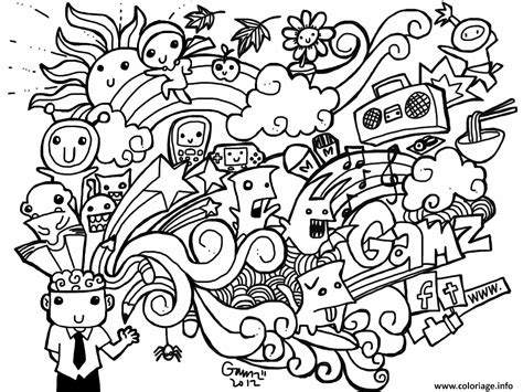 you doodle free coloriage 40 dessin