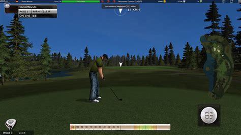 desktop   golf game simulation game showcase