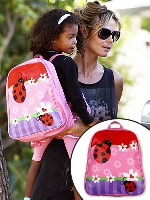 back to school celebrity kids photos sundayworld mini must have lou samuel s ladybug backpack moms