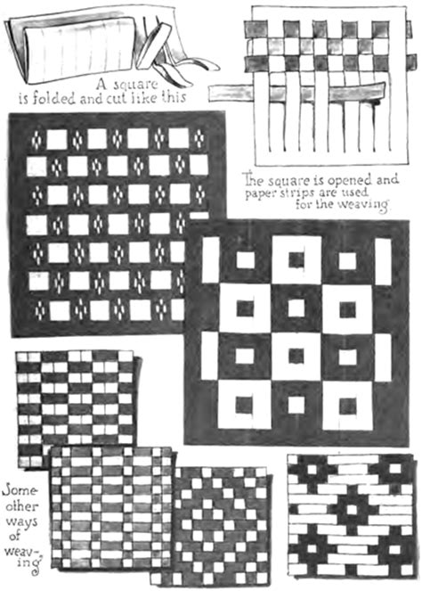 printable paper weaving worksheets paper weaving crafts for kids instructions to weave with