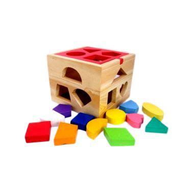 blibli mainan anak jual kidzntoys kotak pas natural mainan edukasi anak