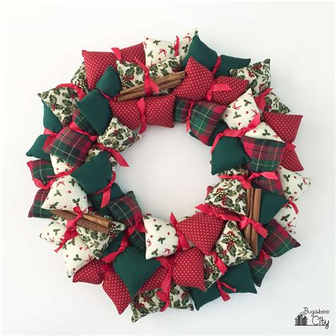 love these stuffed fabric christmas trees hopefully will holiday pillow wreath bugaboocity
