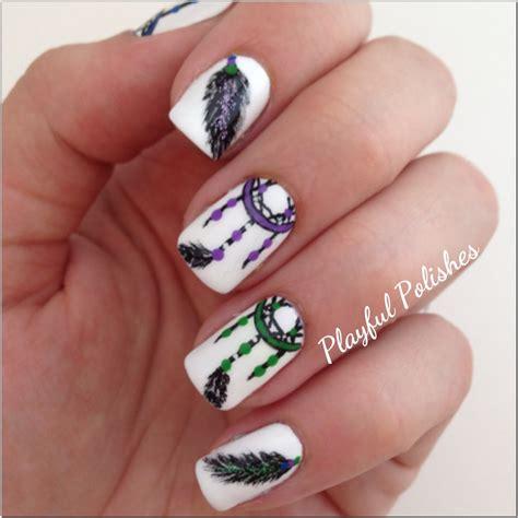 dream catcher design for nails nail designs dreamcatcher nail art designs