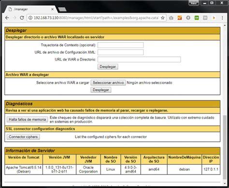 tutorial tomcat linux c 243 mo instalar y configurar apache tomcat en gnu linux debian