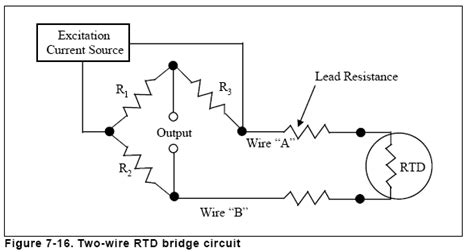 wheatstone bridge measurement circuit chapter 7 temperature measurement rtd measurement circuits engineering360