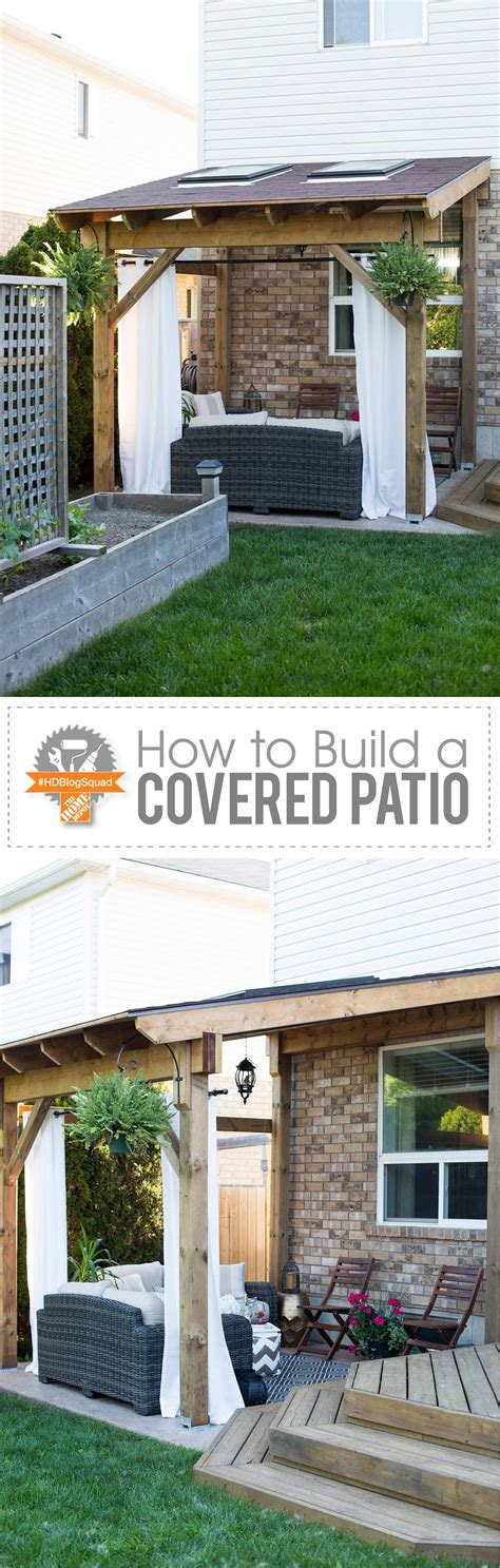 how to build a patio cover hdblogsquad how to build a covered patio stager